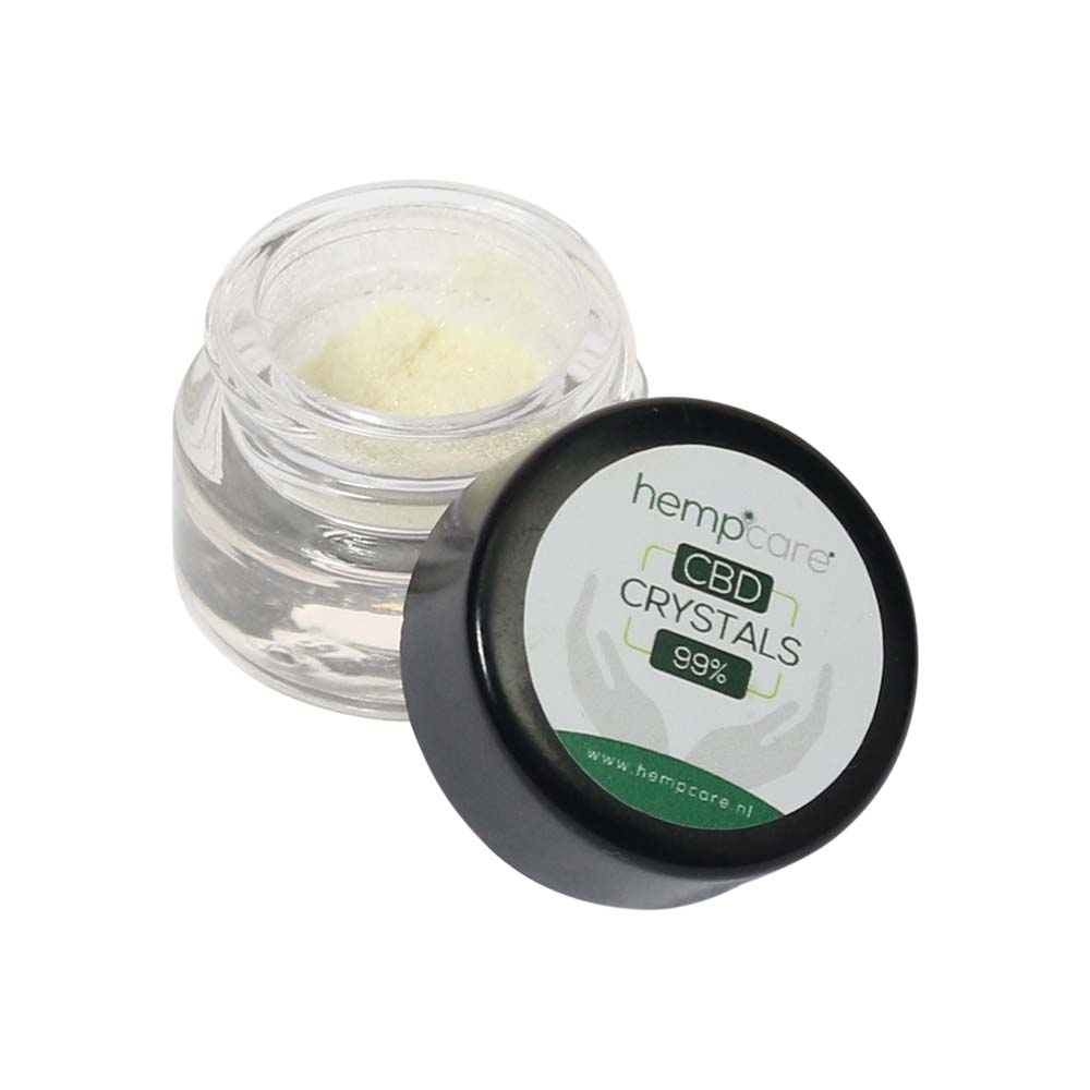Hempcare Pure CBD Crystals 99% - 500 mg