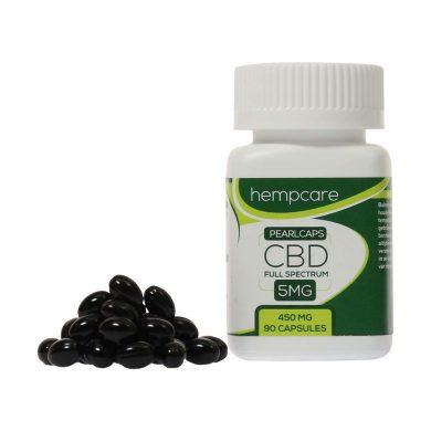 Hempcare Pearlcaps 5% CBD (90 capsules)