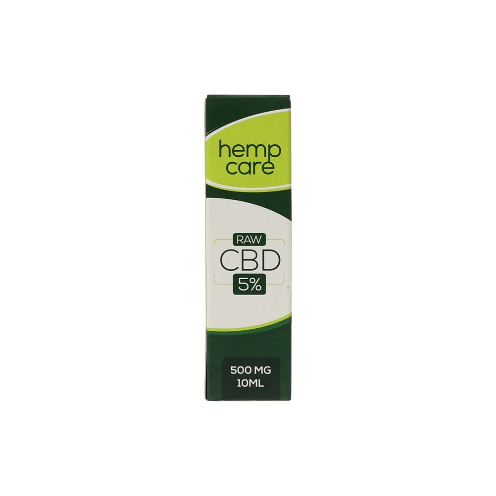 Hempcare RAW 5% CBD oil 10 ml