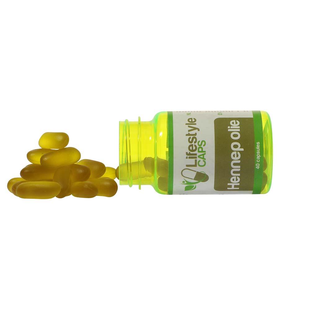 Lifestyle Caps Hemp Seed Oil (40 capsules)