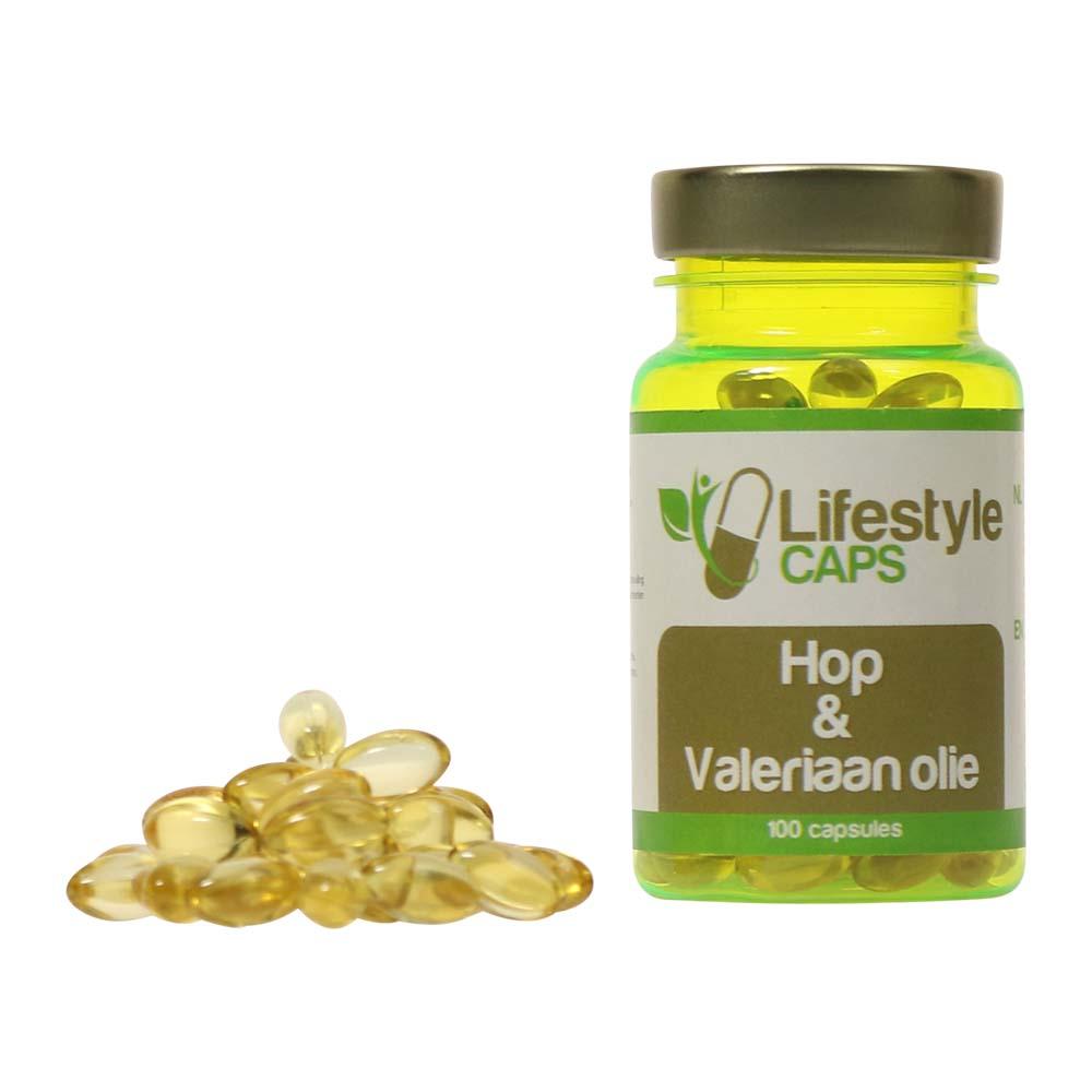 Lifestyle Caps Hop and Valerian Oil(100 capsules)