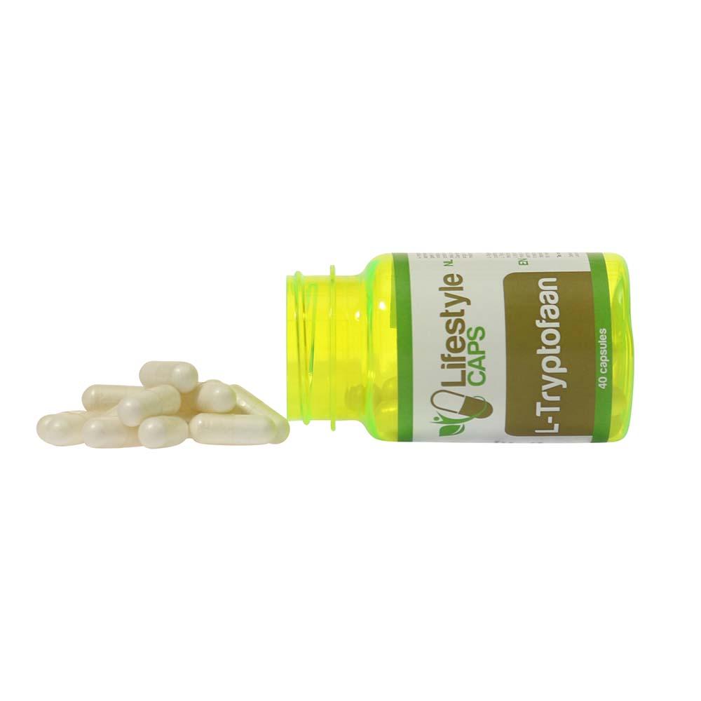 Lifestyle Caps L-Tryptophan (40 capsules)