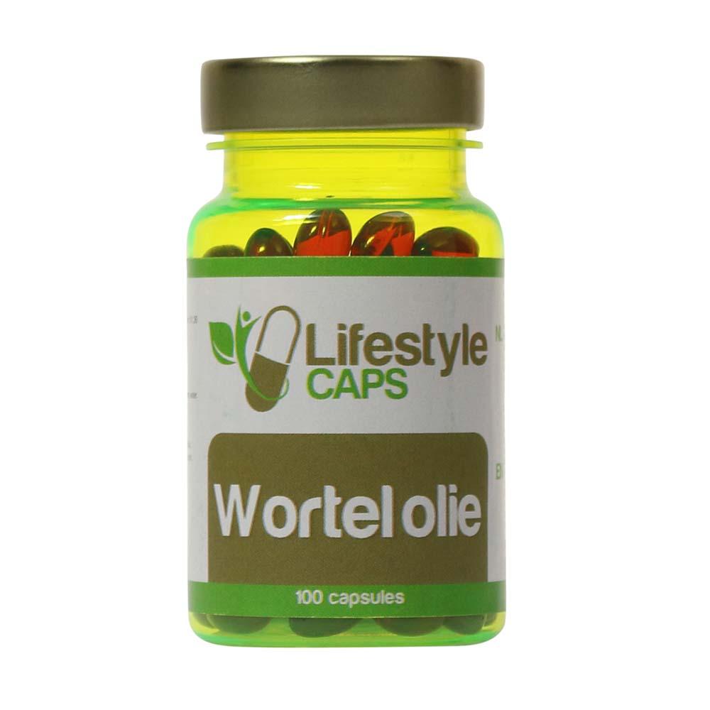 Lifestyle Caps Carrot Oil (100 capsules)