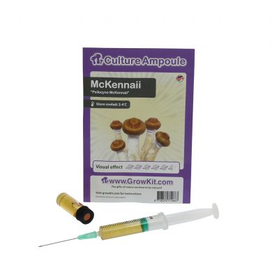 McKennaii Spore Syringe Psilocybe Culture Ampoule Magic Mushroom Spores
