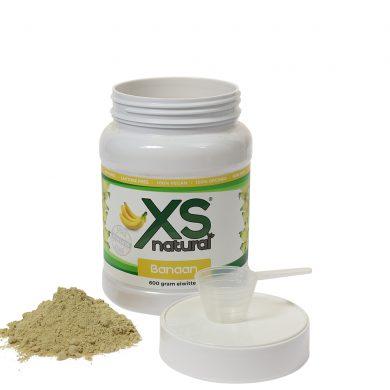Vegan Banana Protein Shake XS Natural (600 grams)