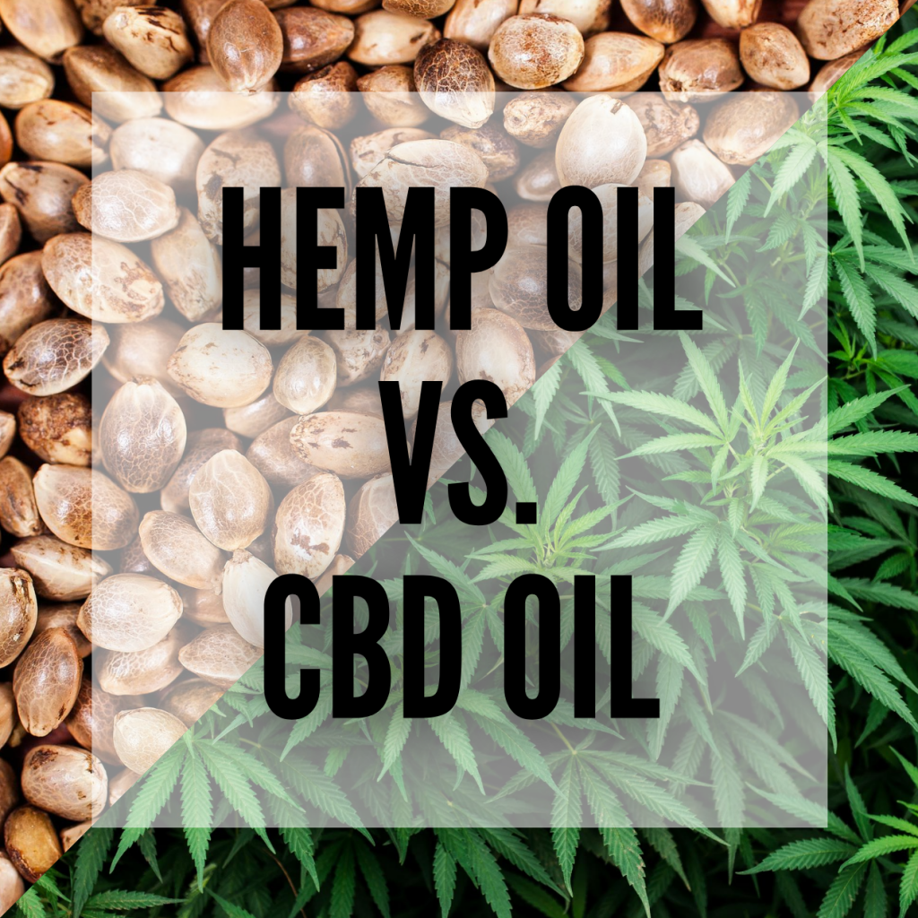 hemp oil and cbd oil differences