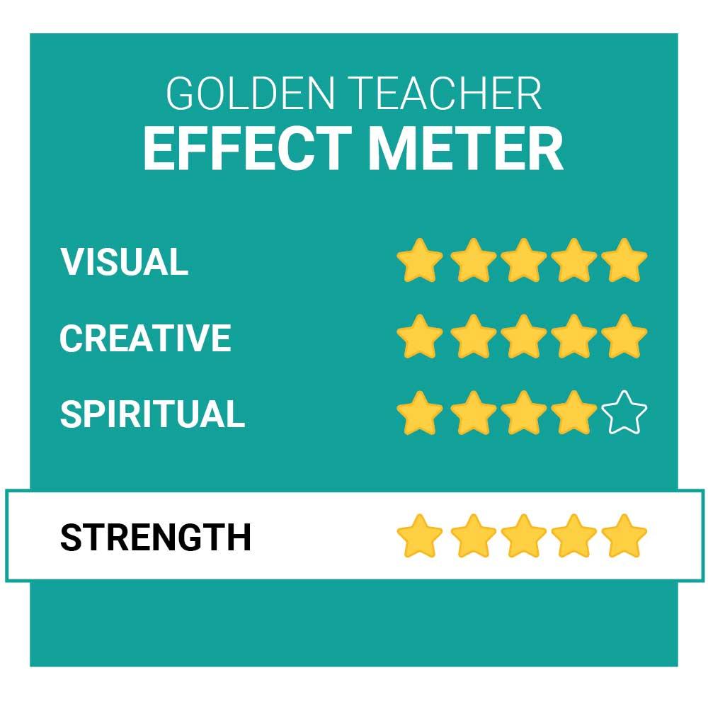 Golden Teacher Magic Mushroom Effects Smartific.com