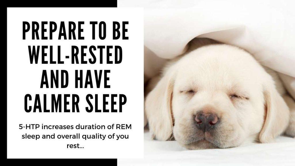 5-HTP benefits - better sleep - Smartific blog