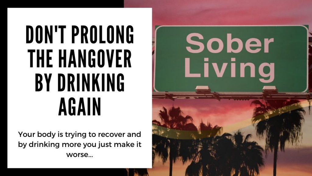 Best Hangover Cures -  don't prolong the hangover by drinking again - Smartific blog