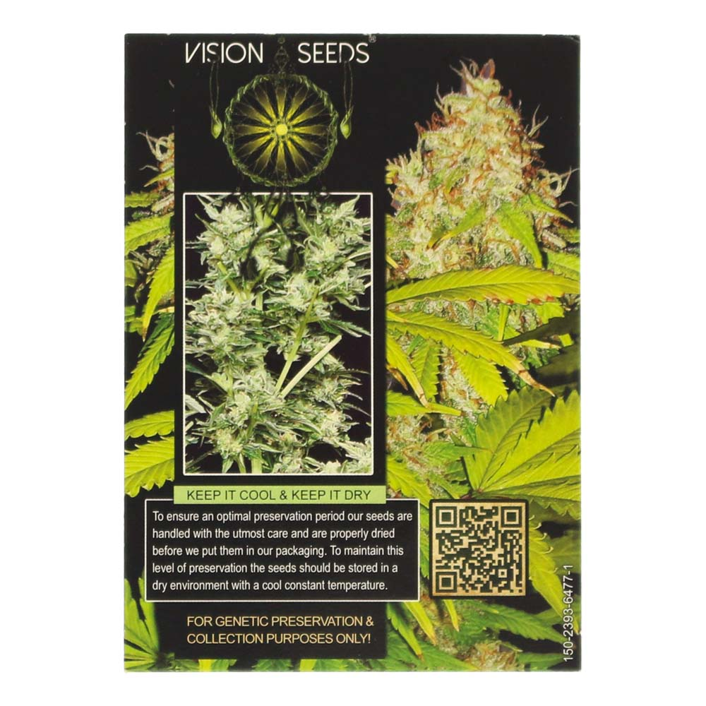 🌿 Vision Seeds Cannabis Seeds Auto AK-49 Smartific 2014186/2014185