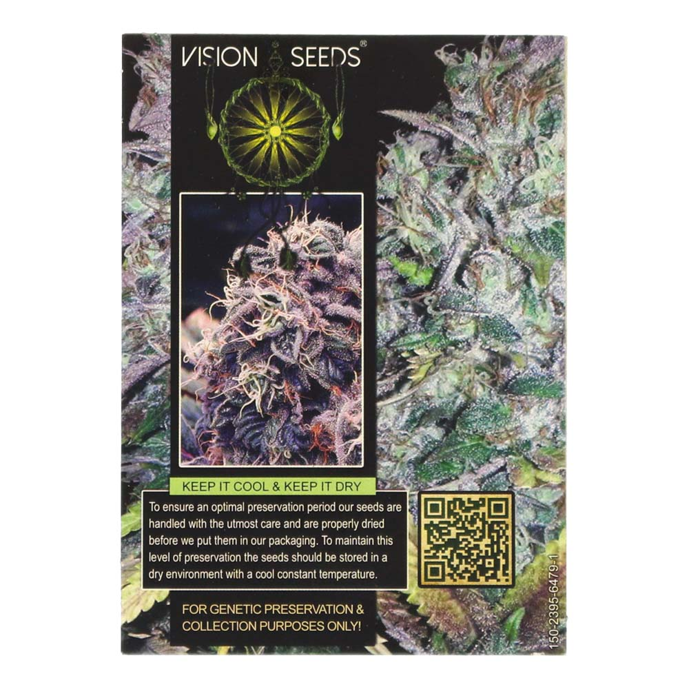 🌿 Vision Seeds Cannabis Seeds Auto BLUEBERRY BLISS Smartific 2014190/2014189
