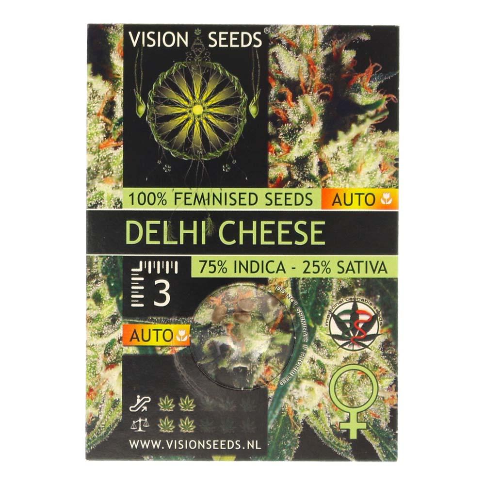 🌿 Vision Seeds Cannabis Seeds Auto DELHI CHEESE Smartific 2014191