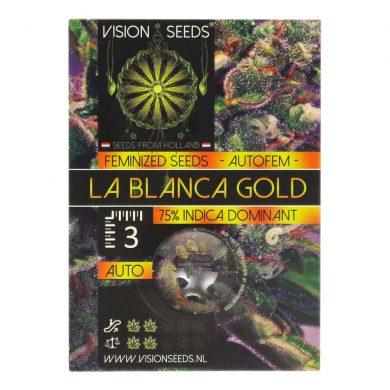 🌿 Vision Seeds Cannabis Seeds Auto LA BLANCA GOLD Smartific 2014195