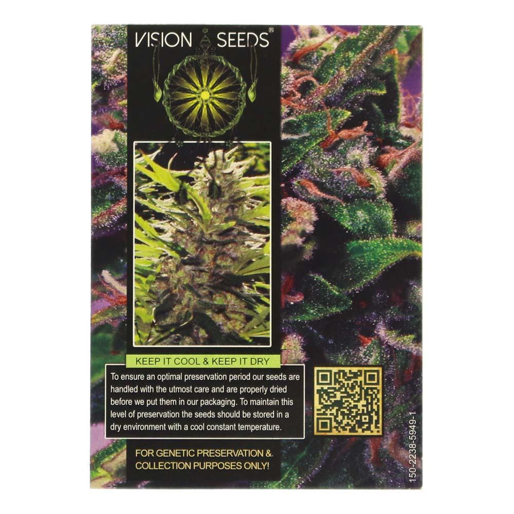 🌿 Vision Seeds Cannabis Seeds Auto LA BLANCA GOLD Smartific 2014196/2014195