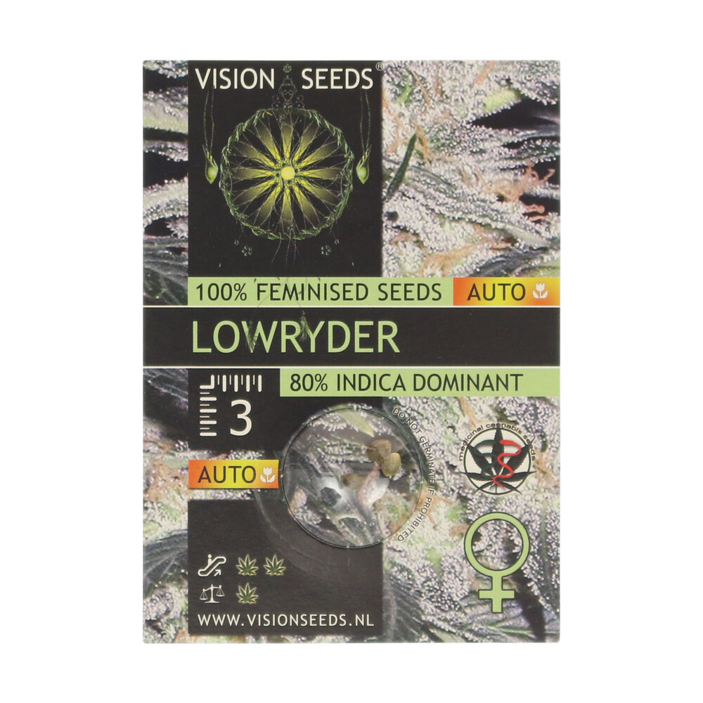 🌿 Vision Seeds Cannabis Seeds Auto LOWRYDER Smartific 2014197