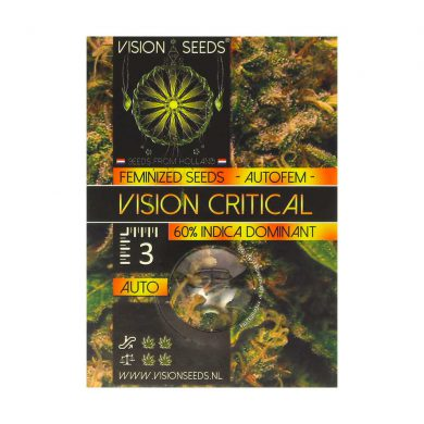 🌿 Vision Seeds Cannabis Seeds Auto VISION CRITICAL Smartific 2014205