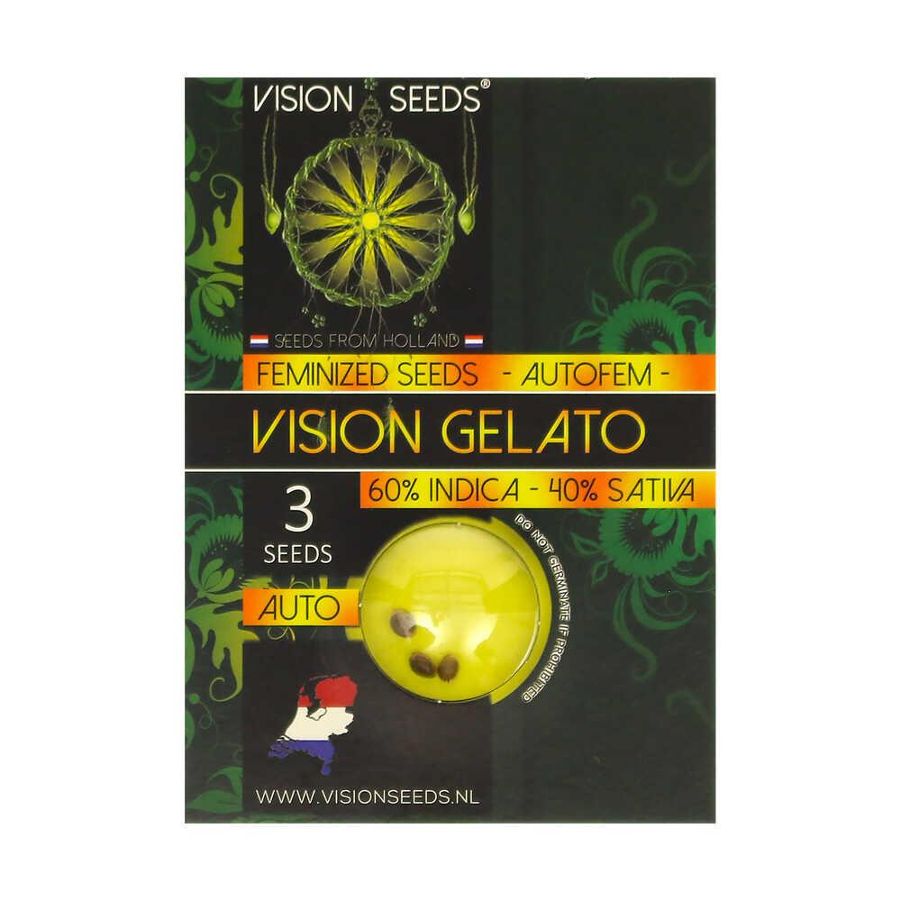 🌿 Vision Seeds Cannabis Seeds Auto VISION GELATO Smartific 2014207