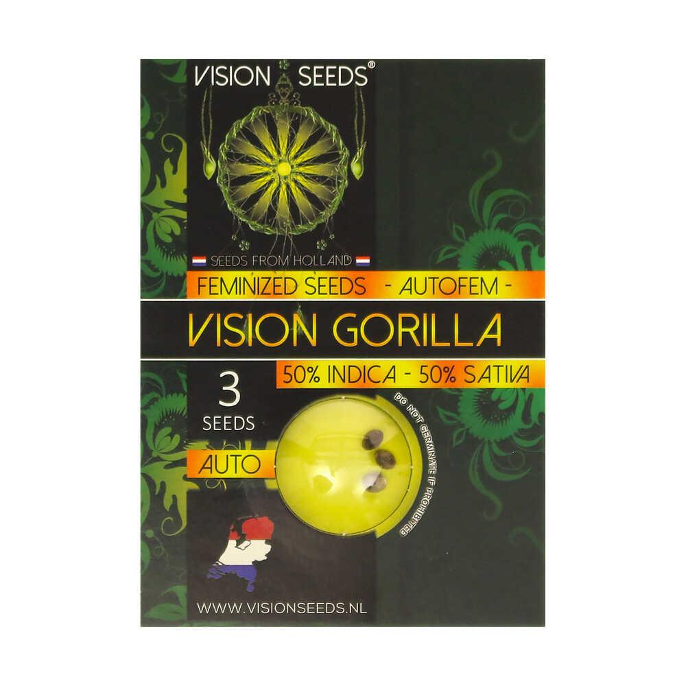 🌿 Vision Seeds Cannabis Seeds Auto VISION GORILLA Smartific 2014209