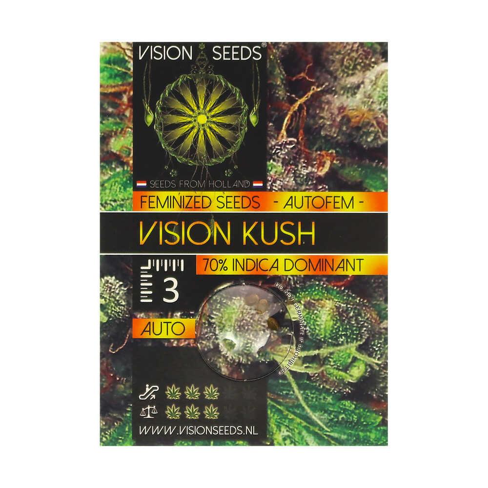 🌿 Vision Seeds Cannabis Seeds Auto VISION KUSH Smartific 2014213