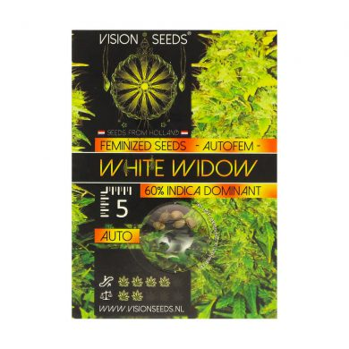 🌿 Vision Seeds Cannabis Seeds Auto WHITE WIDOW Smartific 2014216