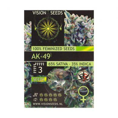 🌿 Vision Seeds Feminized Cannabis Seeds AK-49 Smartific 2014217