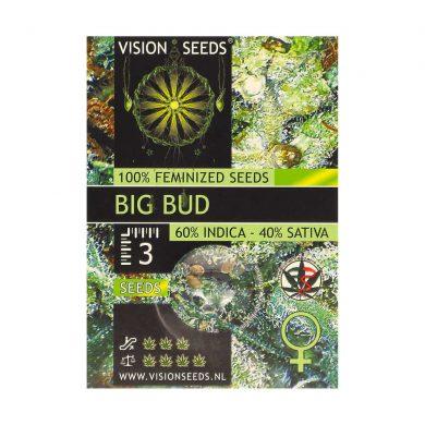 🌿 Vision Seeds Feminized Cannabis Seeds BIG BUD Smartific 2014223