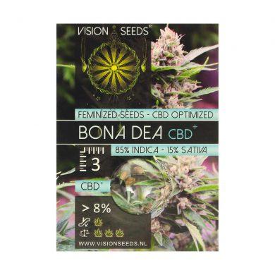 🌿 Vision Seeds Feminized Cannabis Seeds BONA DEA (CBD+) Smartific 2014227