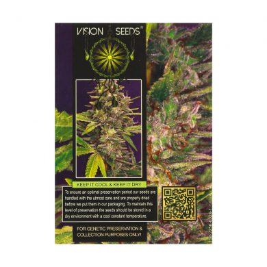 🌿 Vision Seeds Feminized Cannabis Seeds BRAINKILLER HAZE Smartific 2014230/2014229