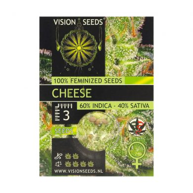 🌿 Vision Seeds Feminized Cannabis Seeds CHEESE Smartific 2014233