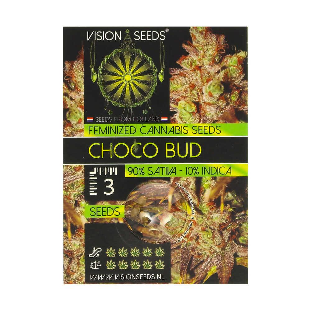 🌿 Vision Seeds Feminized Cannabis Seeds CHOCO BUD Smartific 2014235