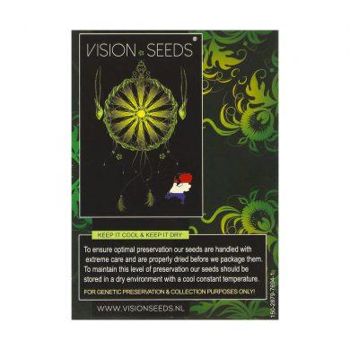 🌿 Vision Seeds Feminized Cannabis Seeds DARK STAR X AK-49 Smartific 2014241/2014240