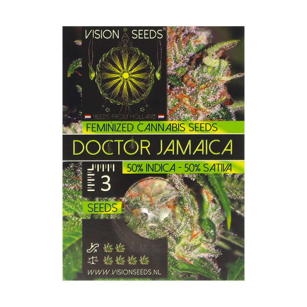 🌿 Vision Seeds Feminized Cannabis Seeds DOCTOR JAMAICA Smartific 2014243