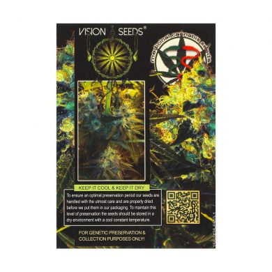 🌿 Vision Seeds Feminized Cannabis Seeds JACK HERER Smartific 2014246/2014245