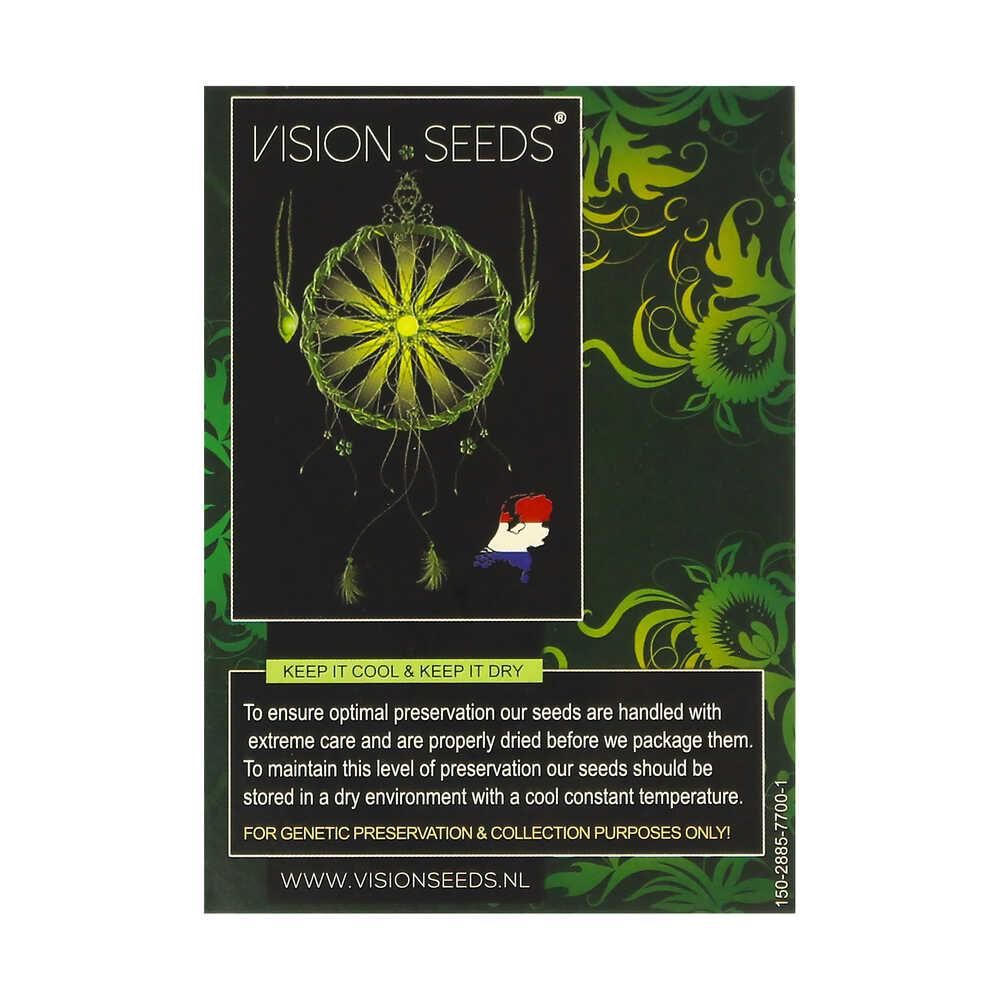 🌿 Vision Seeds Feminized Cannabis Seeds NICOLE X OG Smartific 2014256/2014255