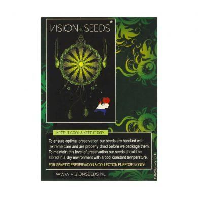 🌿 Vision Seeds Feminized Cannabis Seeds PURE GELATO Smartific 2014262/2014261
