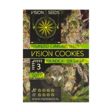 🌿 Vision Seeds Feminized Cannabis Seeds VISION COOKIES Smartific 2014273