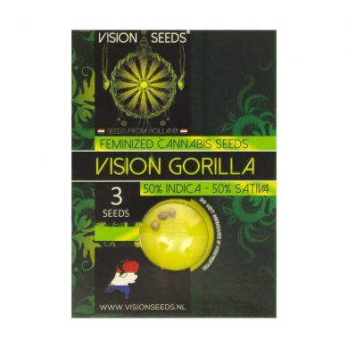 🌿 Vision Seeds Feminized Cannabis Seeds VISION GORILLA Smartific 2014275