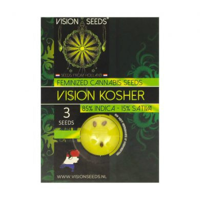 🌿 Vision Seeds Feminized Cannabis Seeds VISION KOSHER Smartific 2014277