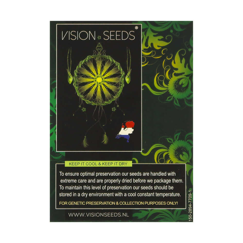 🌿 Vision Seeds Feminized Cannabis Seeds VISION KOSHER Smartific 2014278/2014277