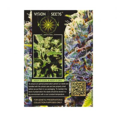 🌿 Vision Seeds Feminized Cannabis Seeds WHITE WIDOW Smartific 2014282/2014281