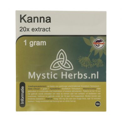 🌿 Mystic Herbs Kanna 20x Extract Smartific 8718274712469