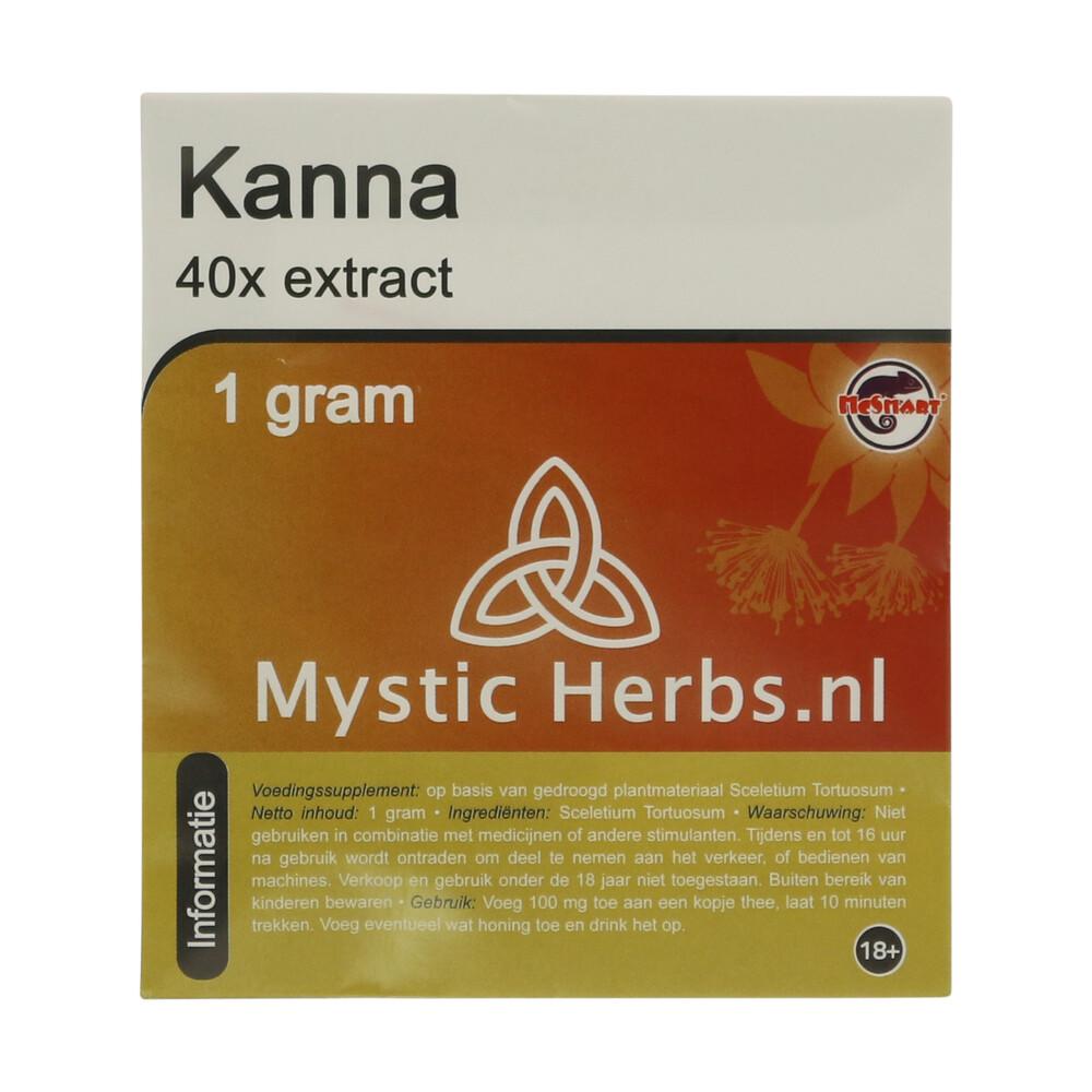 🌿 Mystic Herbs Kanna 40x Extract Smartific 8718274712476