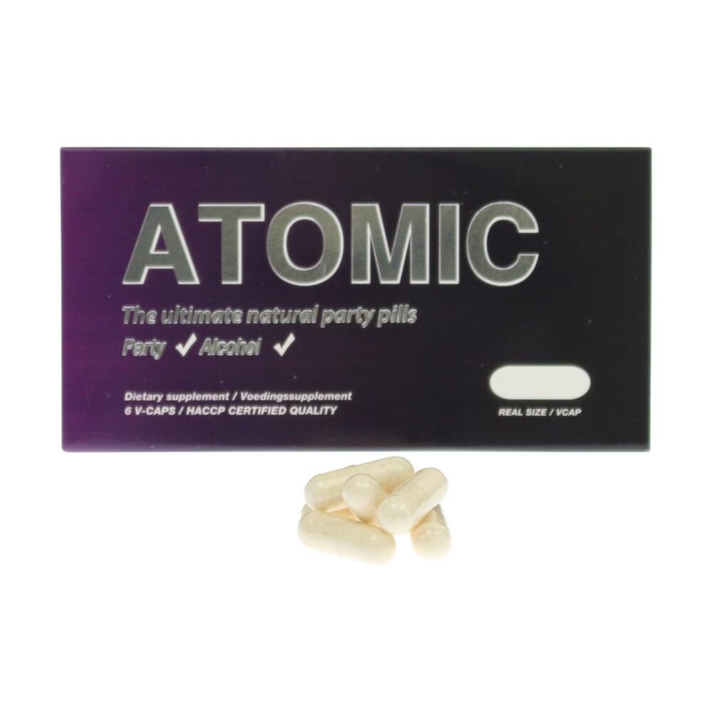 💊 HPA Partypills Atomic Smartific 9769077557527