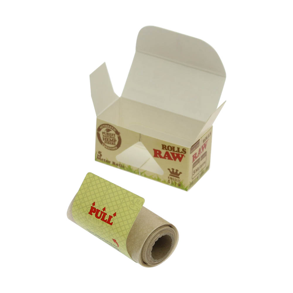 💨 Raw Organic Rolls 5m Rolling Papers Smartific 716165174912