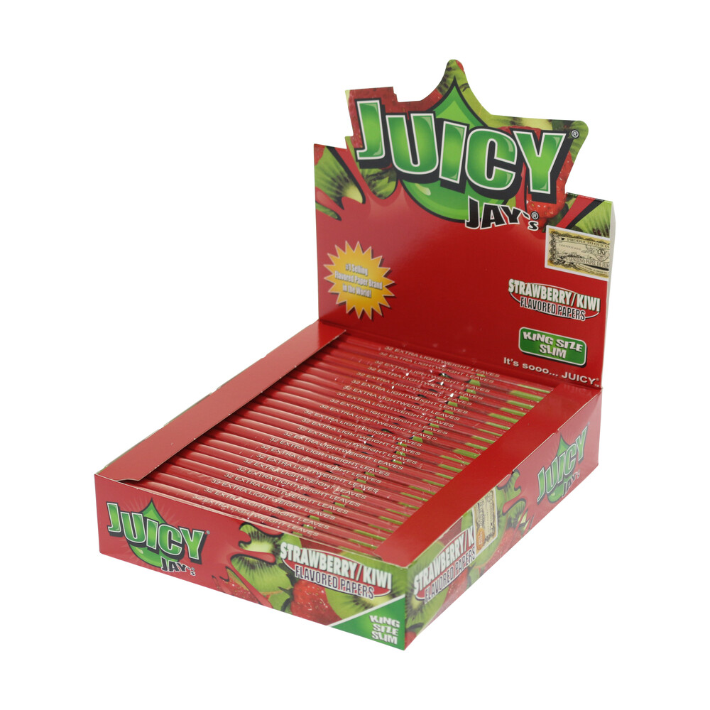 💨 Strawberry-Kiwi Flavored Papers Juicy Jay's Smartific 716165179856