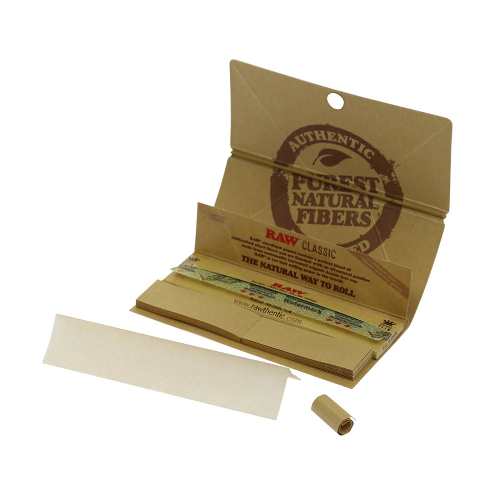 💨 Raw Classic Artesano King Size Slim Rolling Papers Smartific 716165200550