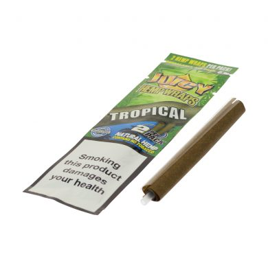 💨 Tropical Passion Flavored Hemp Wraps Juicy Jay's Smartific 716165250562