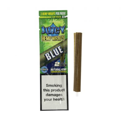 💨 Blackberry and Blueberry Flavored Hemp Wraps Juicy Jay's Smartific 716165281283