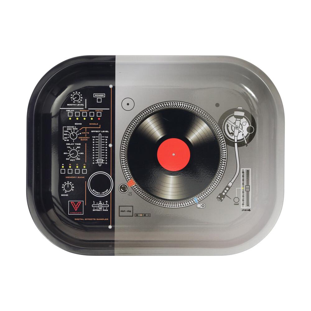 🧐 DJ Turntable Small Metal Rolling Tray Smartific 777791173236
