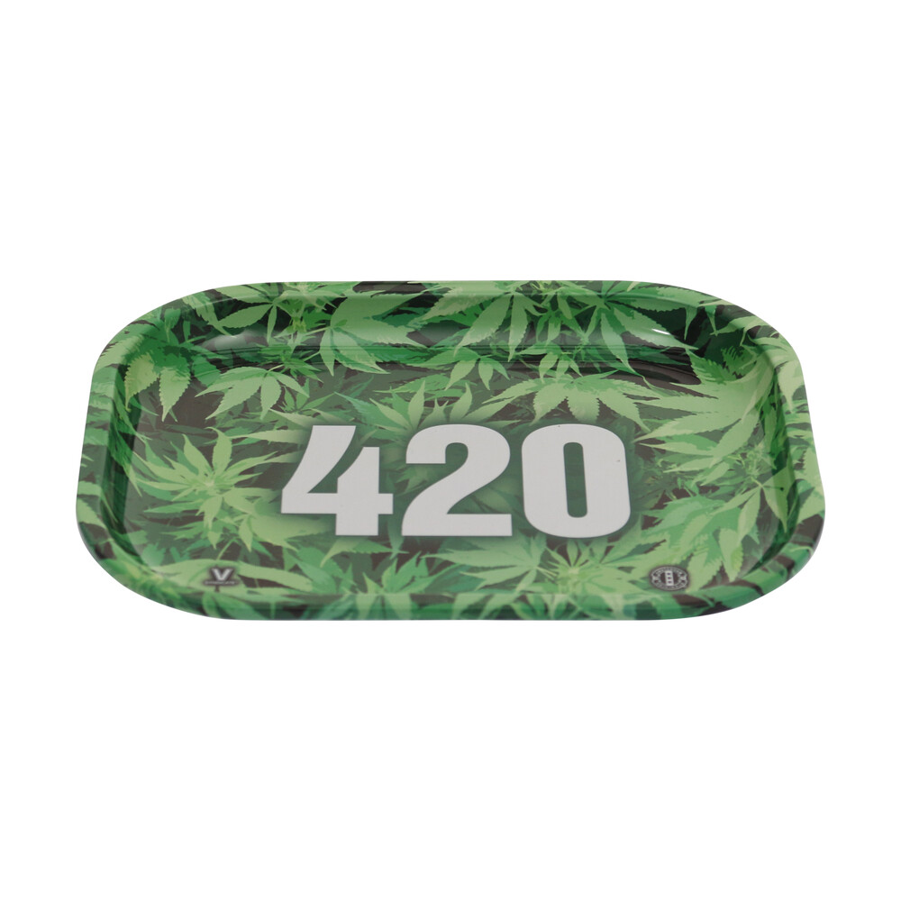 🧐 420 Small Metal Rolling Tray Smartific 777791173274